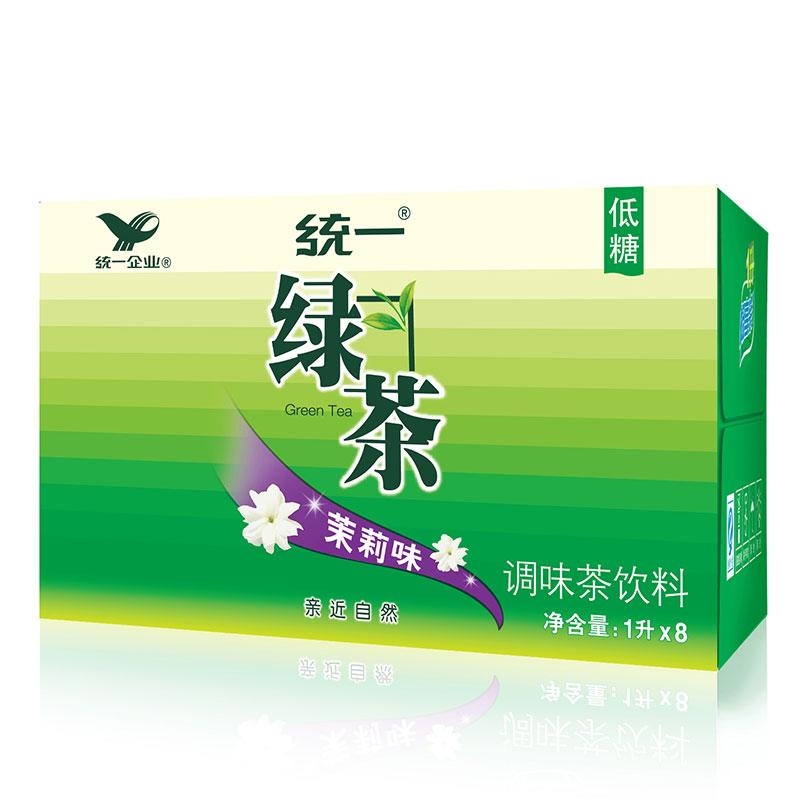 統一 綠茶 1L*8瓶 整箱裝 調味茶飲料