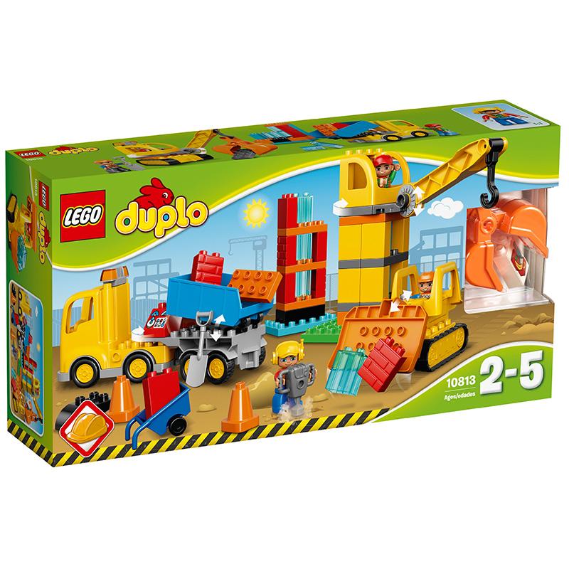樂高 玩具 得寶 DUPLO 2歲-5歲 大型建筑工地 10813 積木LEGO