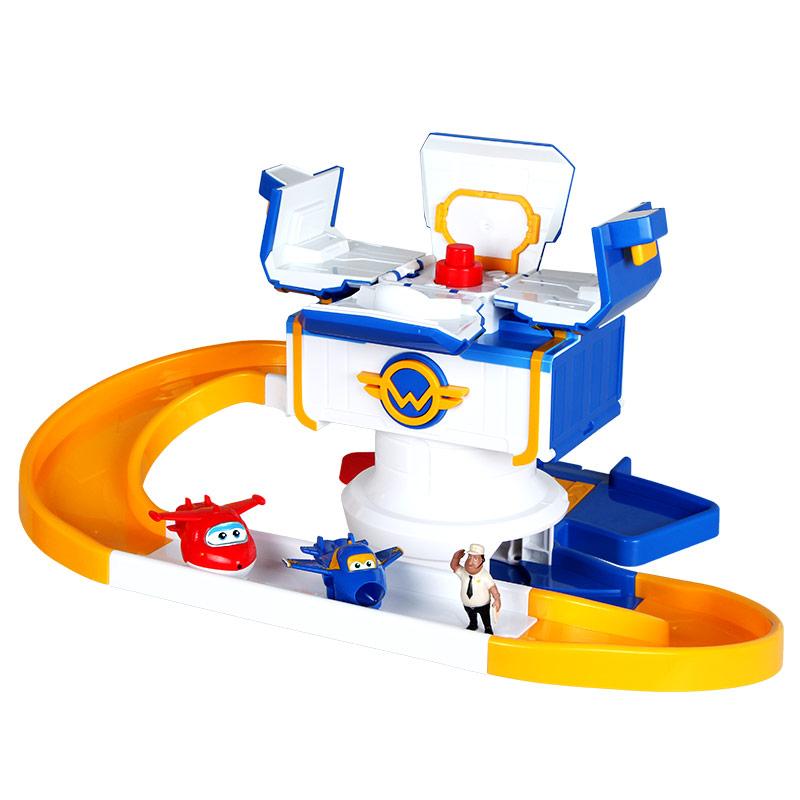 奧迪雙鉆(AULDEY)超級飛俠控制塔 兒童早教益智動漫場景玩具 含樂迪酷飛金寶人偶