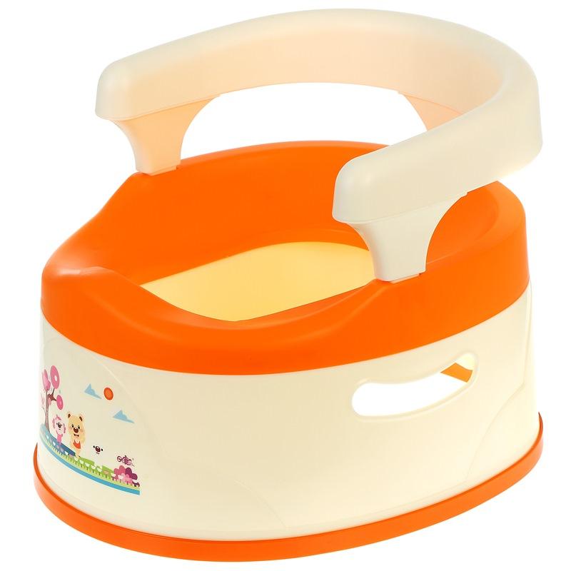 日康儿童坐便器 宝宝马桶 大号抽拉式RK-8004(颜色随机)