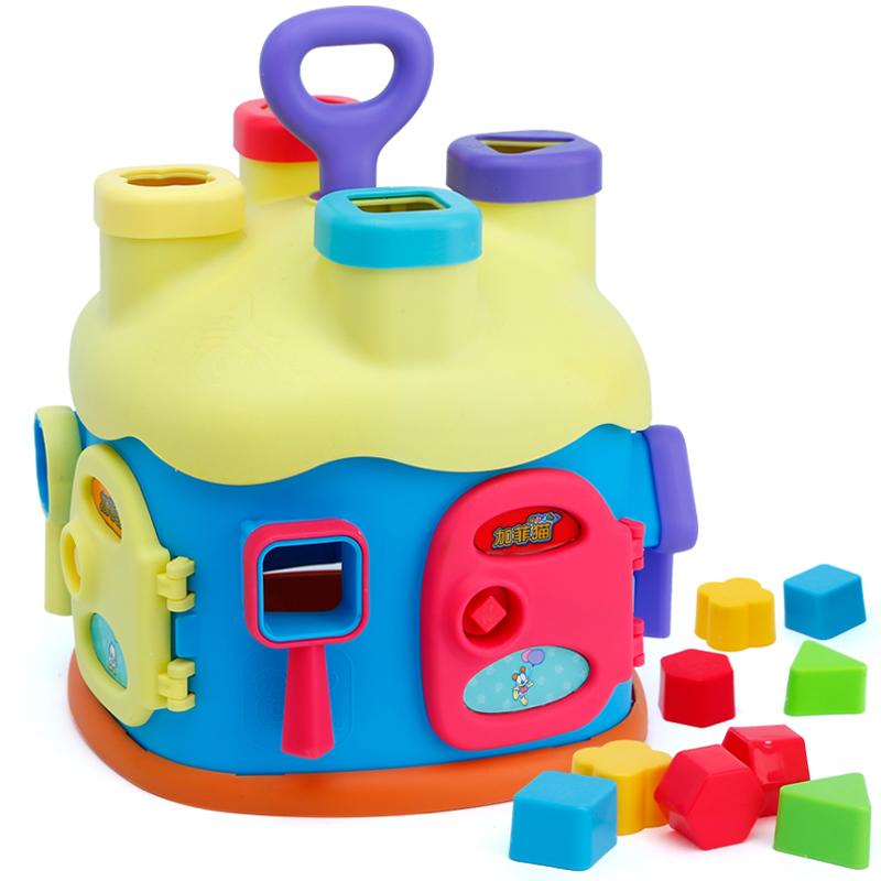 贝恩施(beiens)儿童益智玩具 加菲猫 积木屋立体拼插玩具GF315