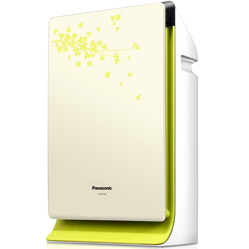松下(Panasonic)空气净化器F-PDF35C-G 除雾霾PM2.5除过敏原二手烟小型家用