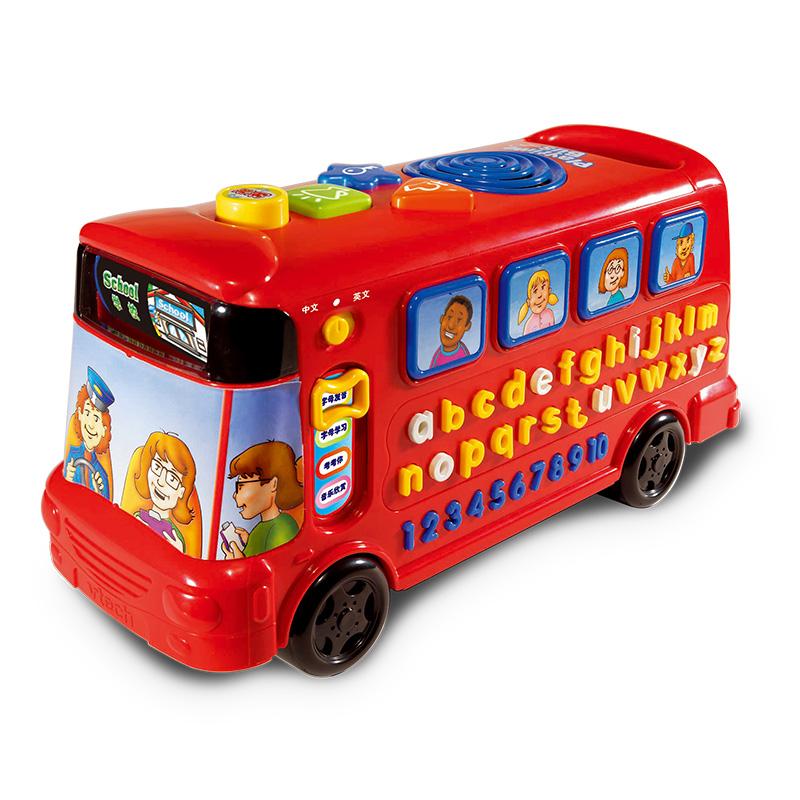 偉易達Vtech 早教益智玩具 字母巴士英語26個字母學習機 兒童玩具車