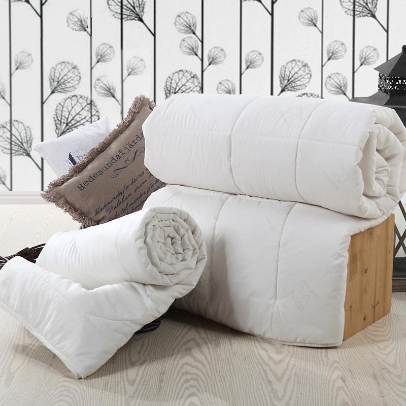 多喜爱(Dohia)被子 加厚保暖二合一馨悦蚕丝羊毛子母四季被芯 229*230cm