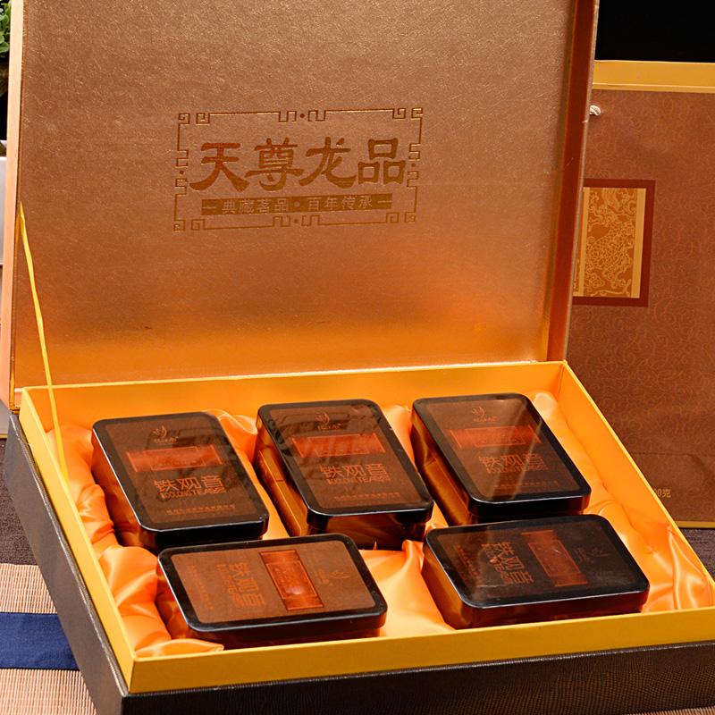 忆江南 天尊龙品 安溪 铁观音特级茶叶礼盒装 500g