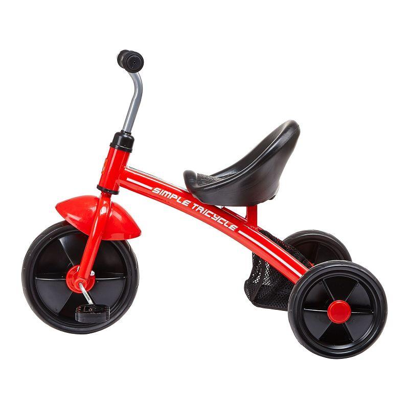 gb好孩子 儿童三轮车 宝宝脚踏车 儿童骑行三轮车 SR130-H001R 红色