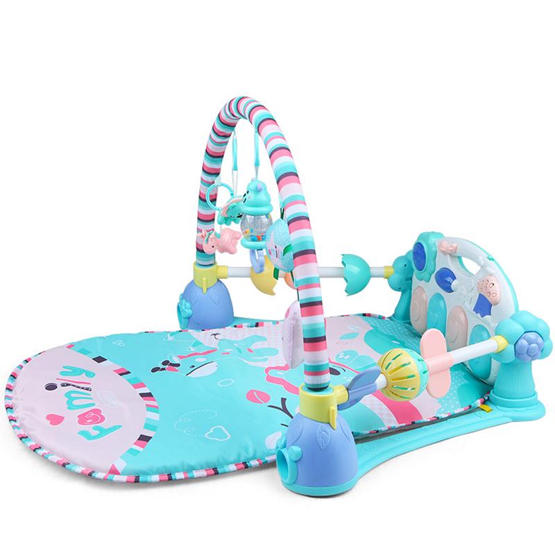 贝恩施(beiens)婴儿玩具多功能健身架宝宝脚踏钢琴儿童带音乐带遥控器B213