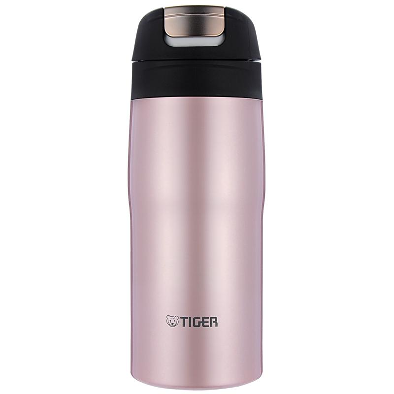 虎牌(Tiger)保温杯 商务办公杯原装进口水杯 MJC-A036-P粉色360ml