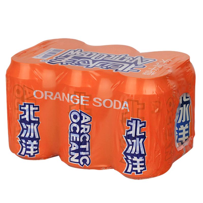 北冰洋 橙汁汽水330ml*6听
