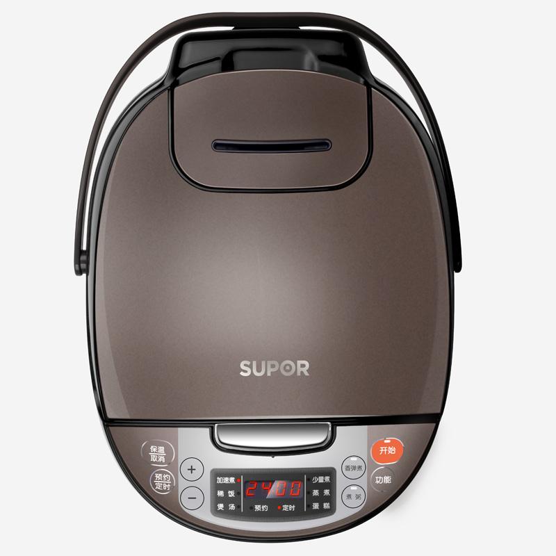 苏泊尔(SUPOR)电饭煲电饭锅4L容量微压力焖煮CFXB40FC829D-75(24小时预约)