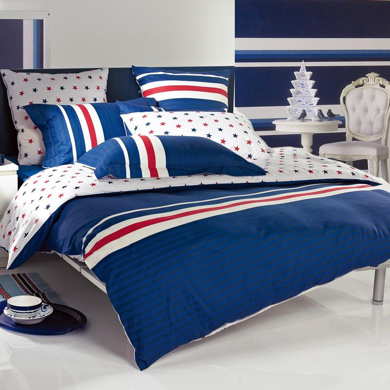 多喜愛(Dohia)床品套件 全棉四件套 床單款 運動風潮 雙人 1.5米床 203*229cm