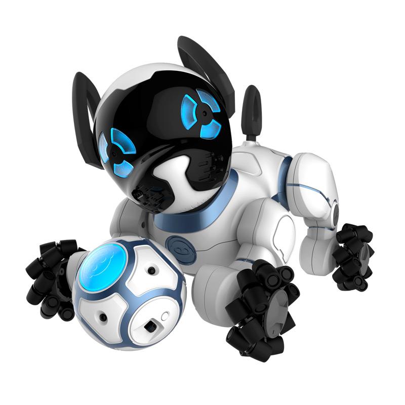 WowWee CHIP机器狗 儿童玩具 智能玩具APP遥控电动亲子互动机器人0805