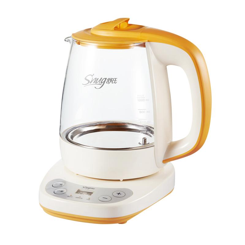 舒氏(SNUG)恒溫調奶器 多功能沖泡奶粉機恒溫暖奶器溫奶器玻璃水壺 家庭裝S308II
