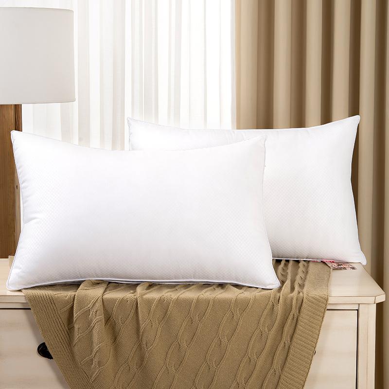 南极人 枕头 立体双边枕芯护颈枕可水洗酒店枕(单只)45x70cm