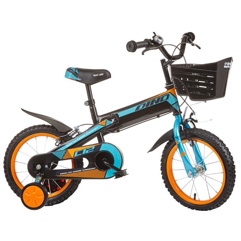 hd小龙哈彼 儿童自行车男女款小孩12/14/16寸山地单车 12寸蓝色LB1203Q-S-P101