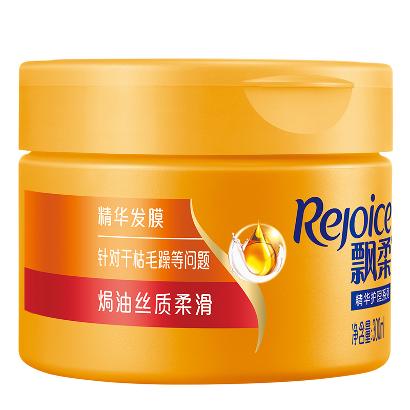 飘柔护发发膜焗油丝质柔滑300ml(护发素新老包装随机发货)