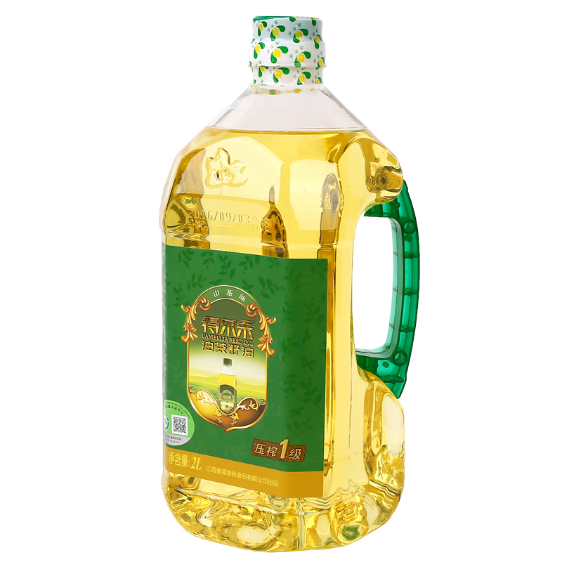 得尔乐 野生有机山茶油茶籽油2L 食用油 压榨一级