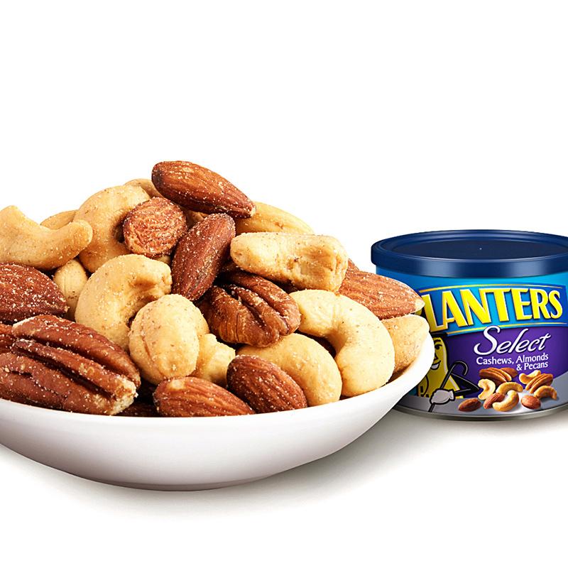 美国进口 绅士牌(Planters)混合坚果·(腰果,巴旦木,碧根果)233g