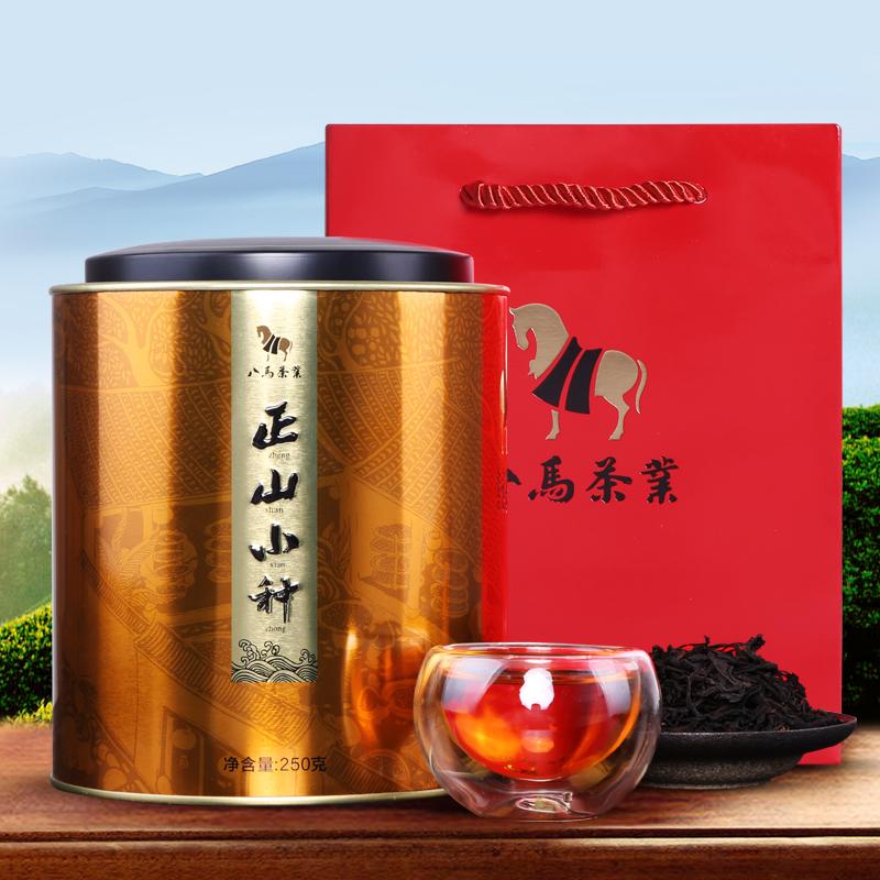 八马茶业 茶叶 红茶 武夷山正山小种 礼罐装250g
