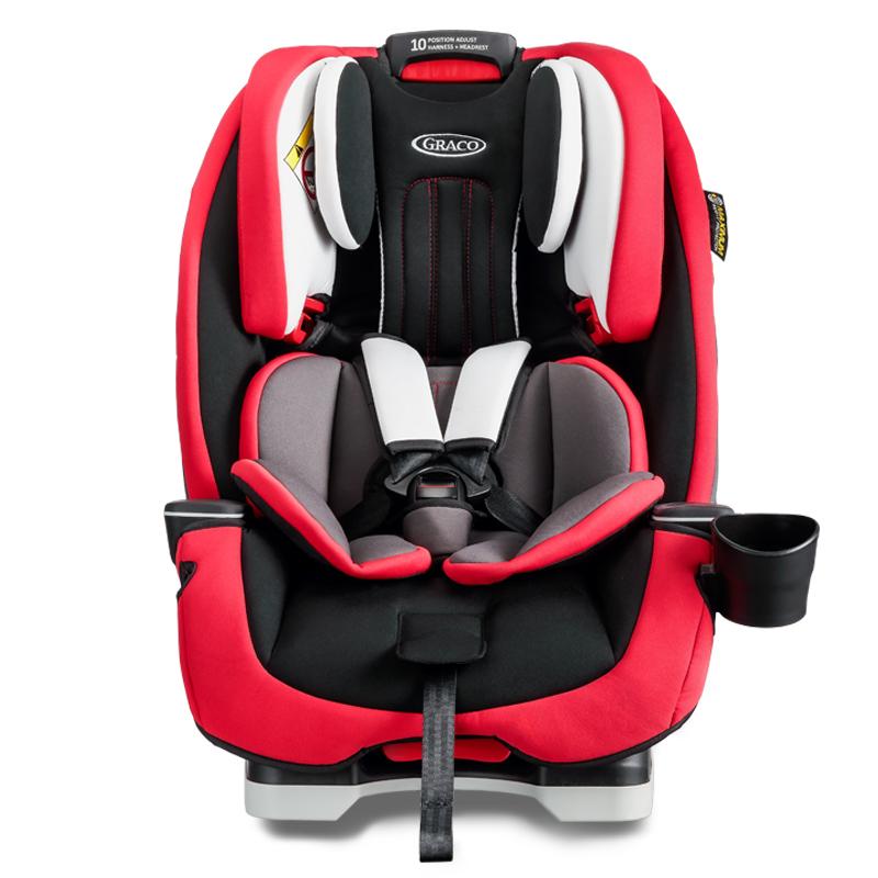 葛萊GRACO寶寶汽車嬰兒童安全座椅 基石系列 適合0-12歲 正反向安裝 8AE99RPLN 紅色