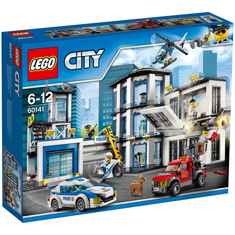 乐高 玩具 城市组 City 6岁-12岁 警察总局 60141 积木LEGO