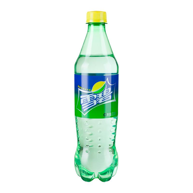 雪碧 Sprite 檸檬味 汽水飲料 碳酸飲料 500ML*24瓶整箱裝(新老包裝隨機發貨)