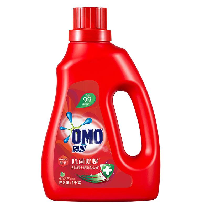 奥妙 除菌除螨 洗衣液1KG 含天然酵素