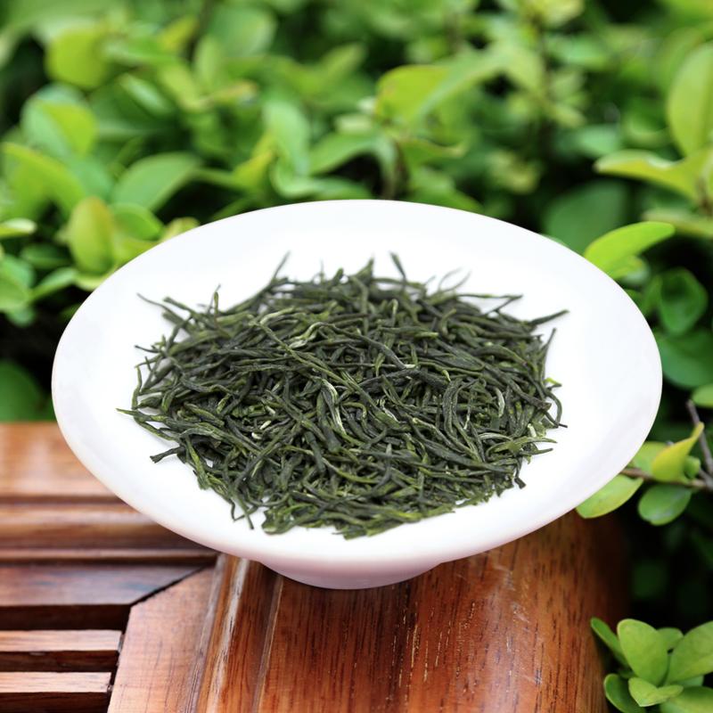 乐品乐茶 茶叶 绿茶 信阳原产毛尖 雨前春茶125g*2罐