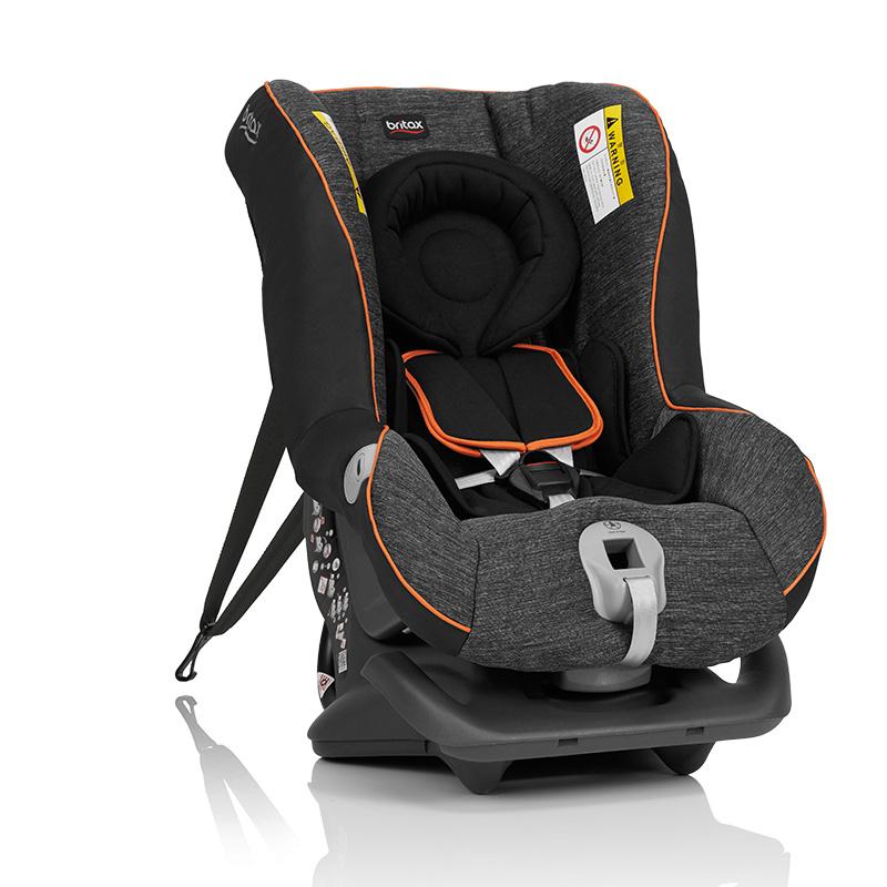 宝得适/百代适britax 宝宝汽车儿童安全座椅 头等舱白金版 正反向安装 适合约0-4岁(曜石黑)