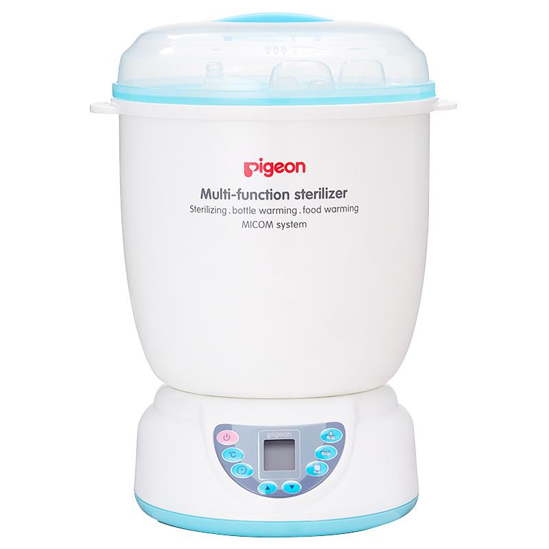 贝亲(Pigeon)PL266 多功能蒸汽 奶瓶消毒器 温奶器暖奶器(赠 水杯 奶瓶刷)