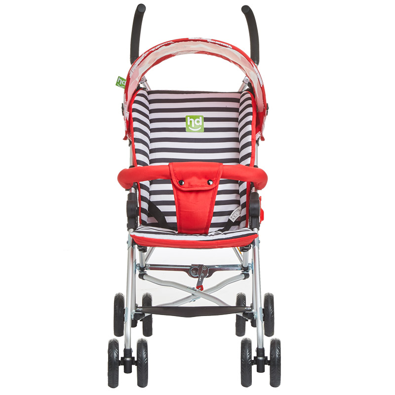 hd小龍哈彼 嬰兒推車鋁合金車架輕便可折疊避震寶寶兒童手推傘車 米蘭紅LD362-T307
