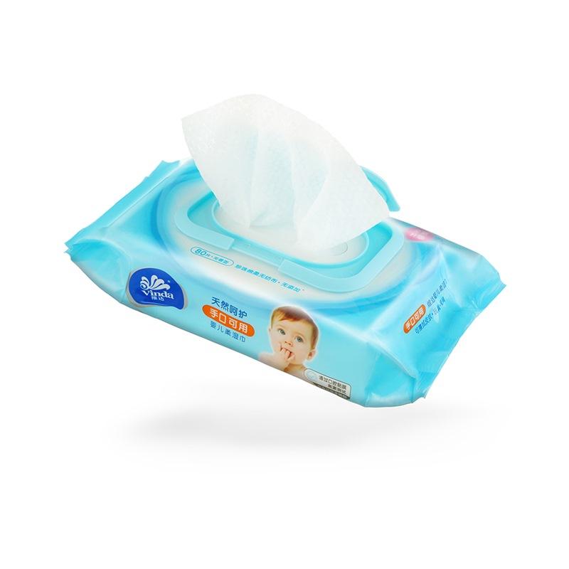 维达 湿巾 婴儿手口可用80片装