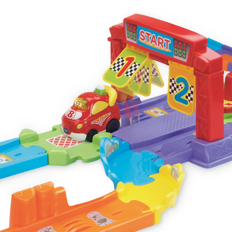 伟易达(Vtech)神奇轨道车智能遥控赛道 遥控电动轨道玩具 男孩玩具 电动遥控赛车玩具