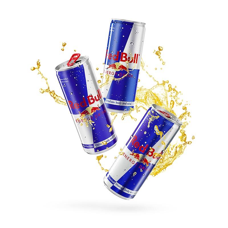 奥地利原装进口 红牛(Red Bull)含气维生素功能饮料 250ml*24罐 整箱