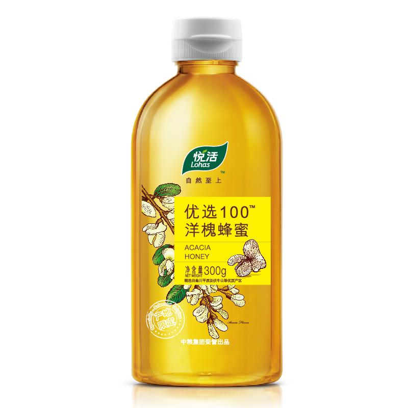 中糧 悅活 優選100 洋槐蜜 蜂蜜 300g