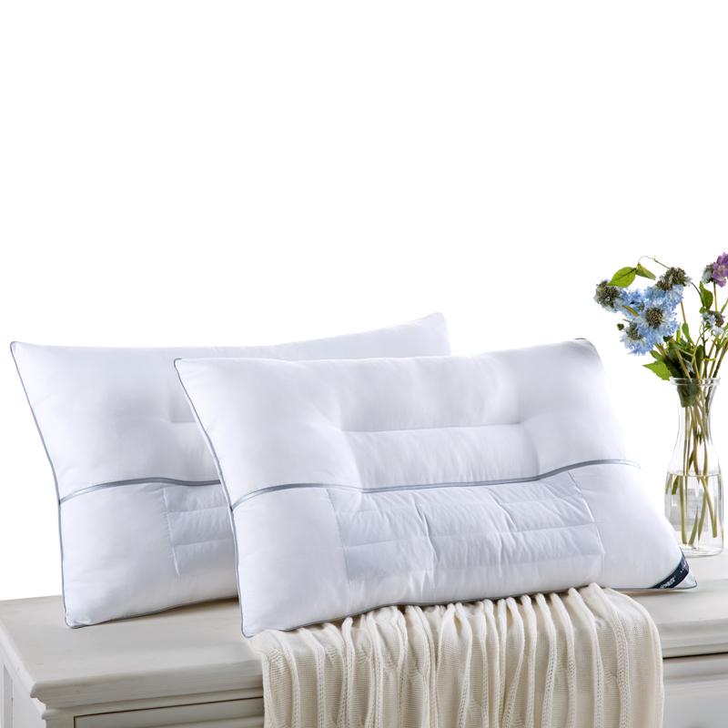 安睡宝(somerelle)枕芯家纺 决明子枕头2只装 决明子纤维对枕 草本枕