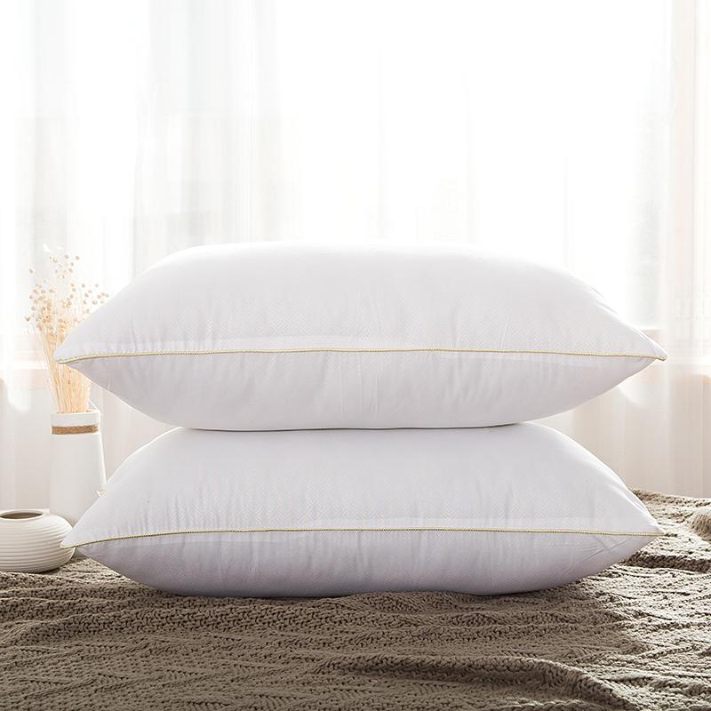 南极人 床品家纺 舒适高弹枕芯午睡枕头 单边枕 一只装