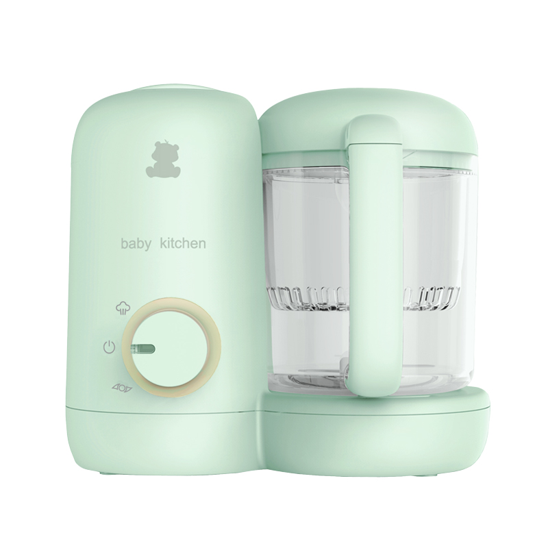 小白熊 (Snow Bear)嬰兒輔食機  寶寶營養食物調理機 電動研磨器料理機 蒸制攪拌一體機 HL-0973