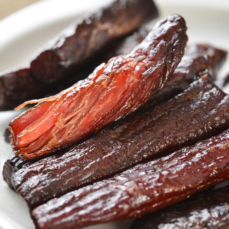 科尔沁 休闲肉脯零食 内蒙古特产 手撕风干牛肉干原味100g