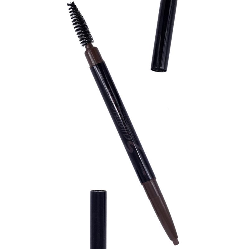 玛丽黛佳(MARIEDALGAR)自然生动眉笔0.2g*2 05 棕色(防水防汗 不脱色 自然持久 一字眉 初学者)