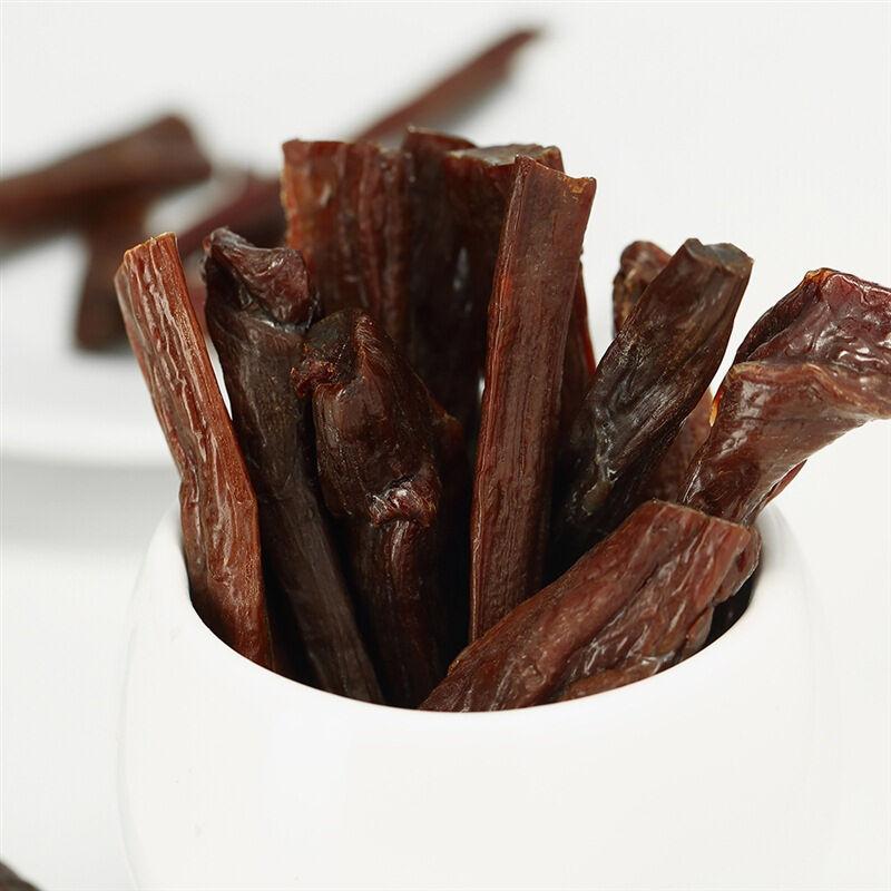 科尔沁 休闲肉脯零食 内蒙古特产 超干手撕风干牛肉干原味68g