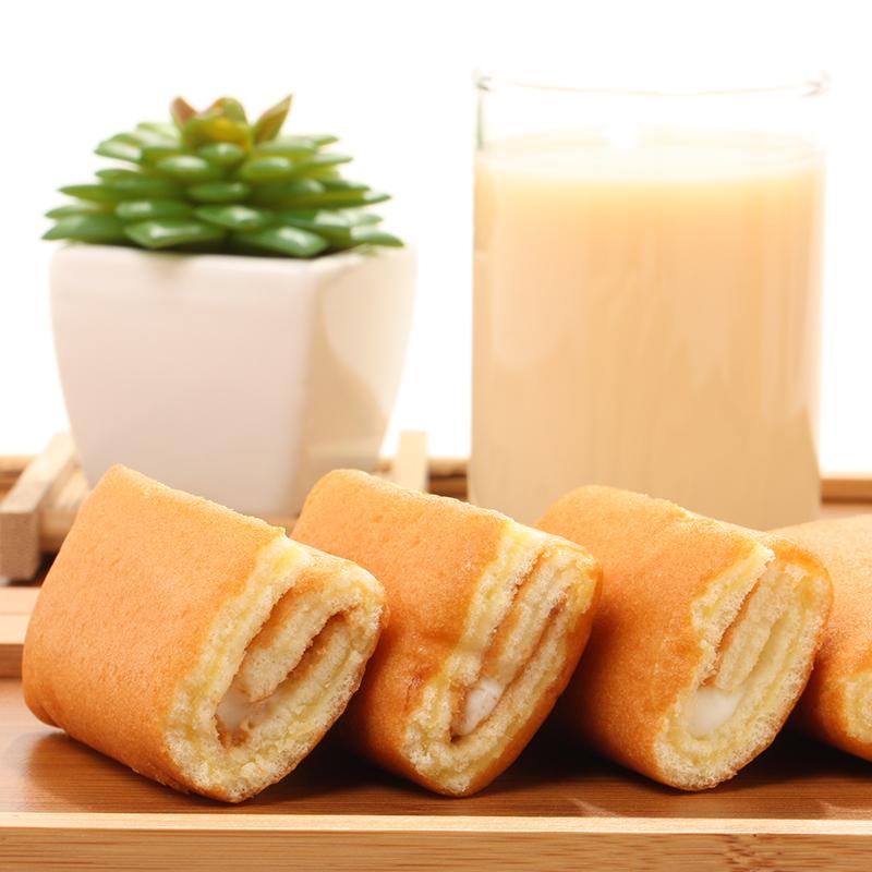 达利园 瑞士卷 草莓味 营养早餐零食面包饼干蛋糕 720g