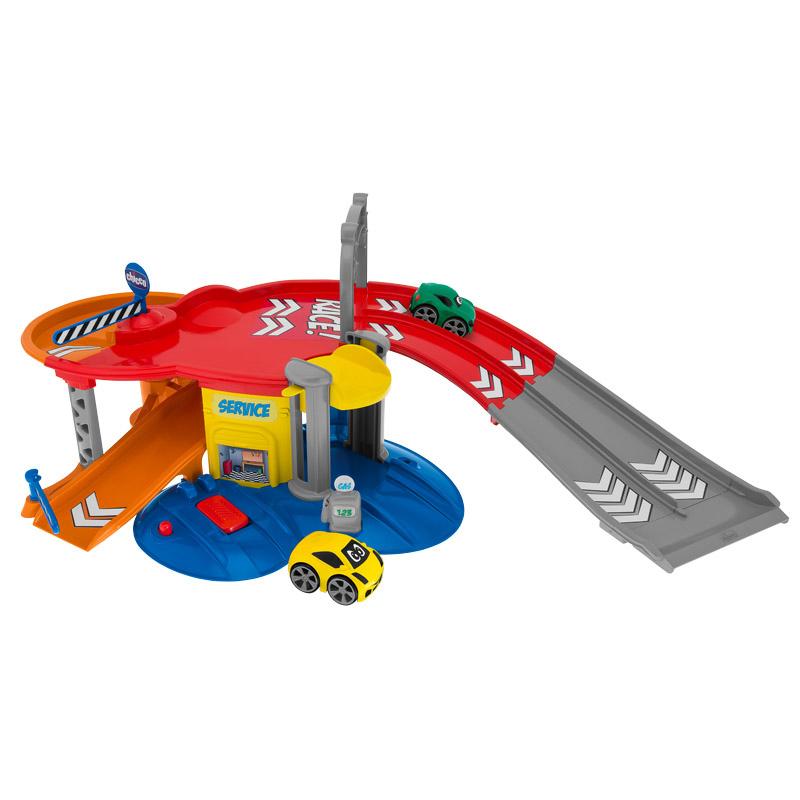 智高Chicco意大利品牌儿童宝宝早教益智玩具1-3岁男孩小汽车-赛车轨道套装 CHIC00007414000000