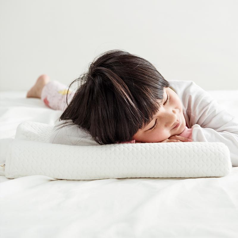 大樸(DAPU)枕芯家紡 A類枕頭 靜眠泰國天然乳膠枕 輕薄透氣枕 兒童乳膠枕 3-6歲 波浪款 44*27cm