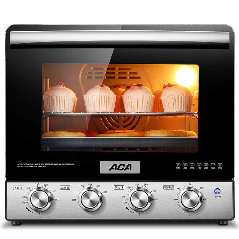北美电器38L立式电烤箱家用烘焙 背部涡轮热风ATO-M38AC