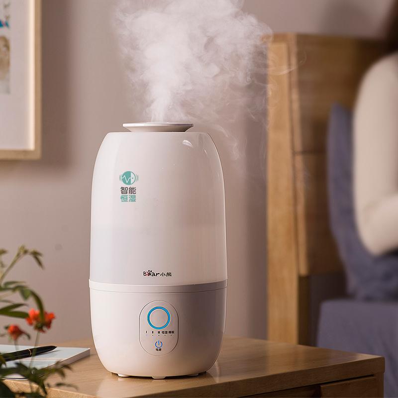 小熊(Bear)加濕器 3L 智能恒濕 家用迷你香薰辦公室臥室空氣加濕JSQ-A30Y1