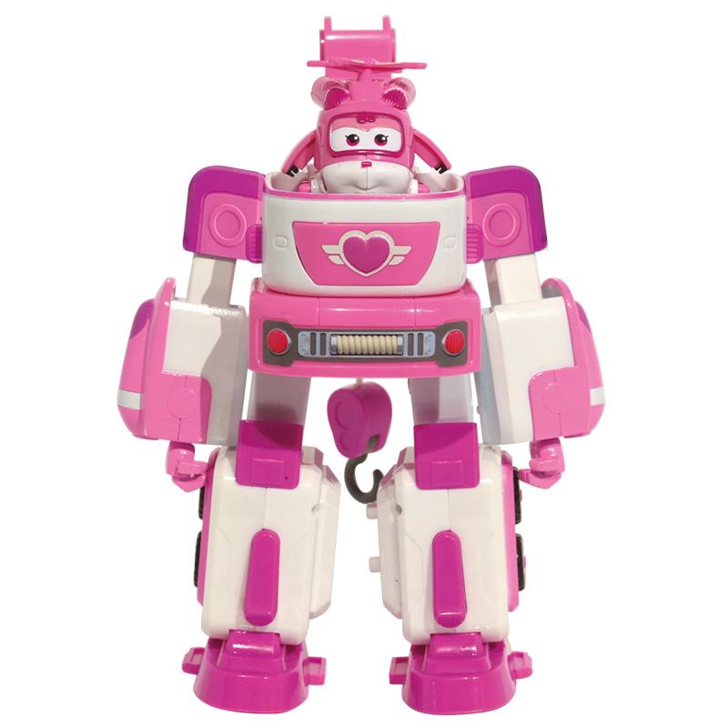 奥迪双钻(AULDEY)超级飞侠 男孩女孩儿童玩具车 载具变形机器人套装-小爱变形玩具救护车 720314