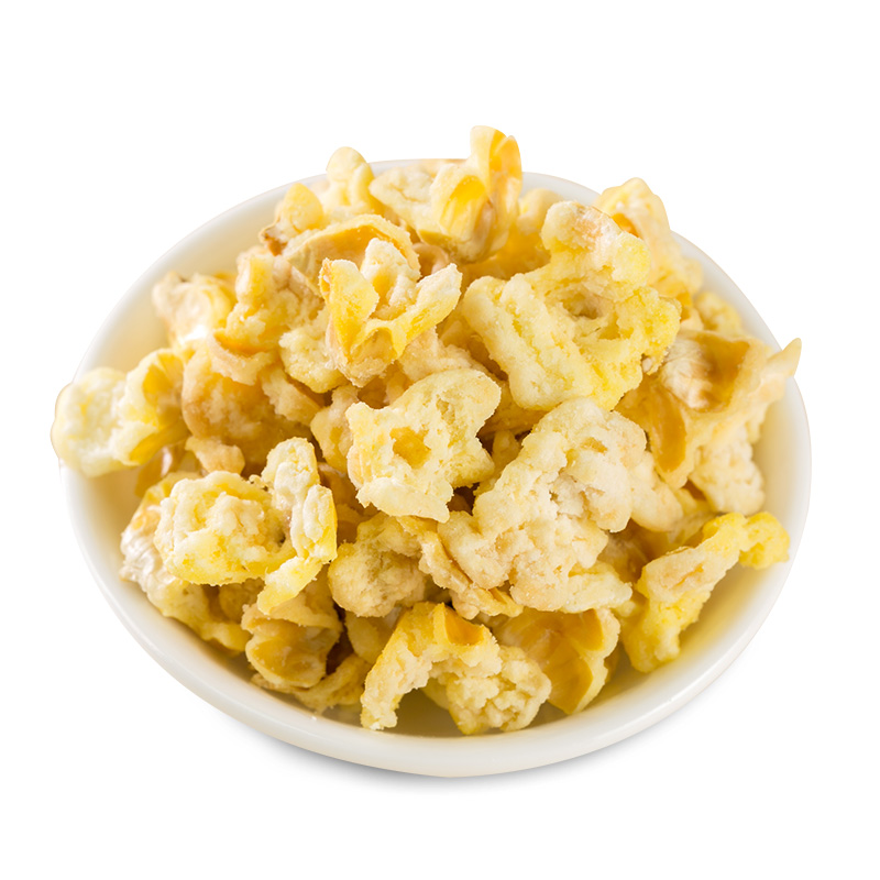 良品鋪子 蛋花玉米 膨化爆米花 玉米花 零食特產68g