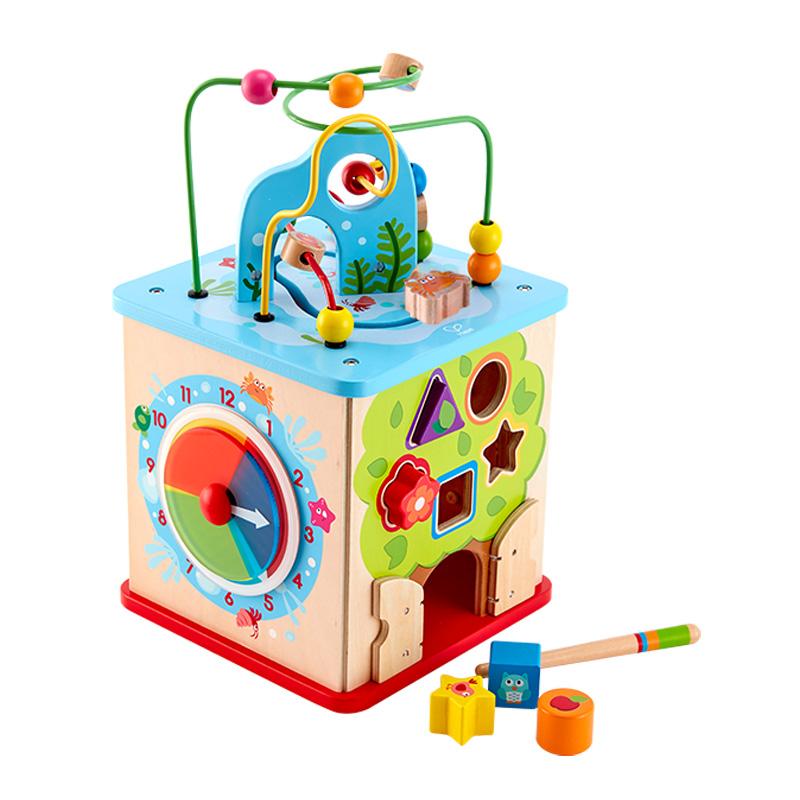 hape 奇趣游戏盒 宝宝儿童早教启蒙益智多功能玩具12个月以上 E8378