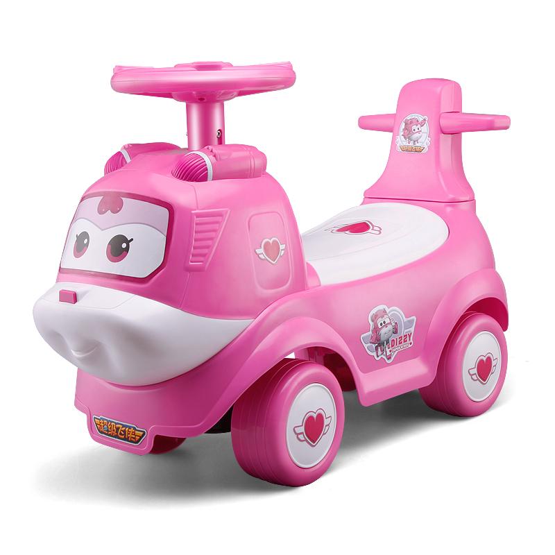 超级飞侠 儿童扭扭车学步车婴儿溜溜车摇摇车宝宝户外健身玩具滑滑车 小爱摇摆车
